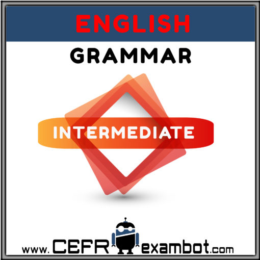 Intermediate English Grammar www.CEFRexambot.com2